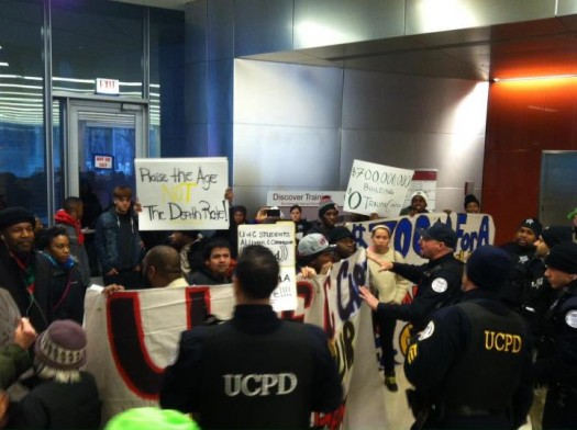 STOP U of C Trauma Center Protest