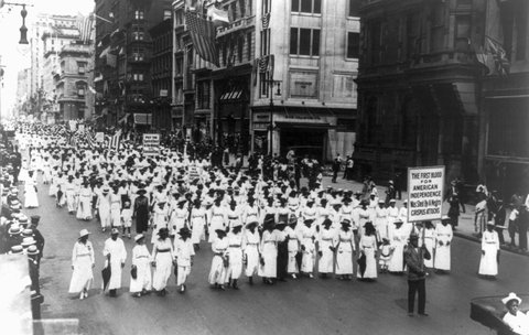 Silent March Parade, 7/1917