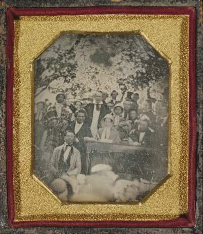 Ezra Greenleaf Weld, daguerreotypist (American, 1801 - 1874) Fugitive Slave Law Convention, Cazenovia, New York, August 22, 1850, Daguerreotype The J. Paul Getty Museum, Los Angeles