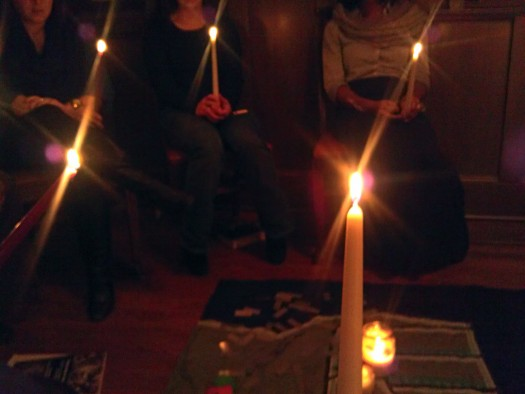 Chicago Candlelight Vigil for Marissa Alexander, 10/28/13