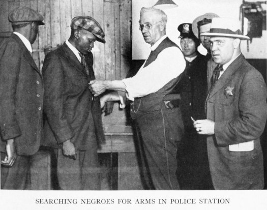 Source: The Negro in Chicago; a study of race relations and a race riot, by the Chicago Commission on Race Relations, 1922