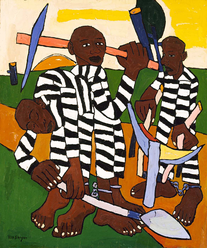 Chain Gang by William H. Johnson (1939)