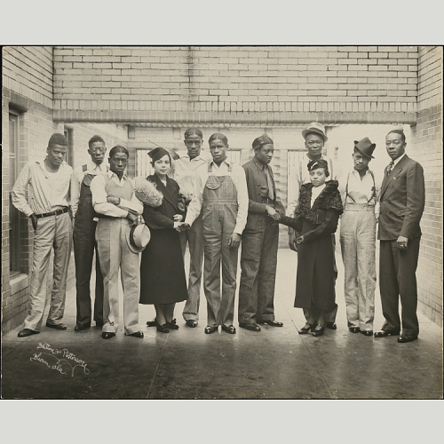 Scottsboro Boys and Juanita Jackson Mitchell (1936)