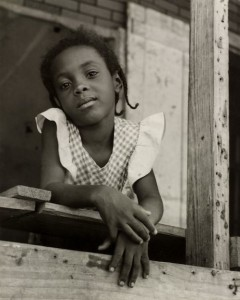 Delores, Melrose Plantation, Louisiana, 1950 (by Carlotta Corpron)