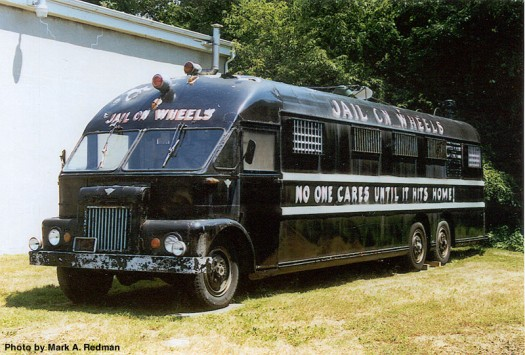 1940s Jail on Wheels Bus