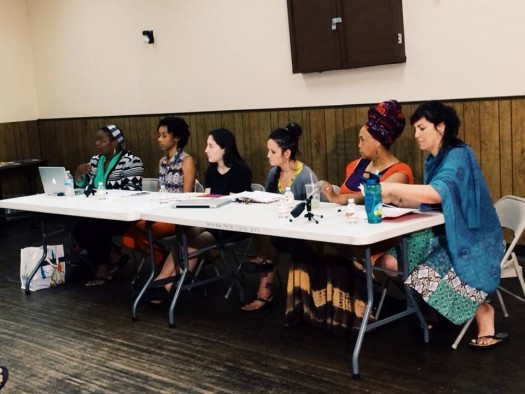 breastfeeding & incarcerated mothers panel (photo by Sarah Jane Rhee, 6/26/14)