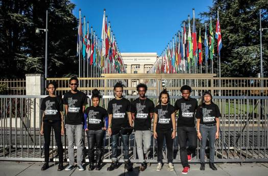 We Charge Genocide at UN in Geneva