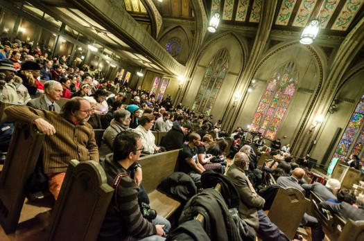 photo by Sarah Jane Rhee (2/14/15 @ Chicago Temple)