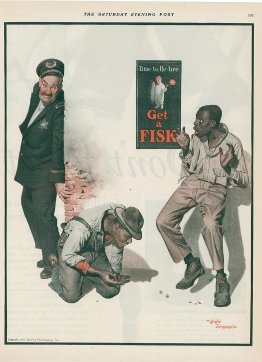 1927 Ad for Fisk Tires (from my collection)