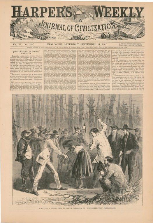 Harper's Weekly, September 14, 1867 (From My Collection)