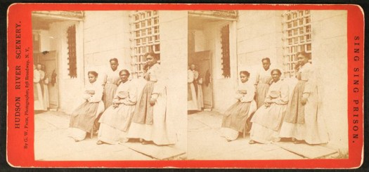 "Schomburg Center for Research in Black Culture, Photographs and Prints Division, The New York Public Library. ""Female Convicts, Sing Sing Prison."" New York Public Library Digital Collections."