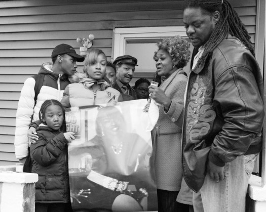 Vigil for Quintonio and Bettie (Chicago, 12/27/15) Photo by Frank James Johnson